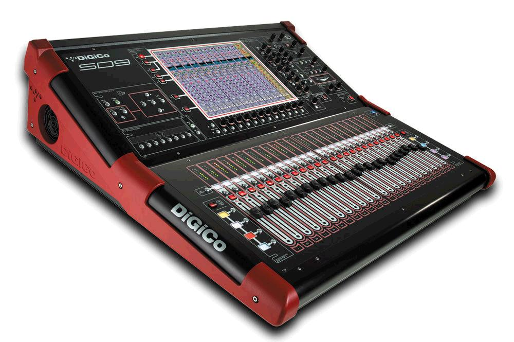 DIGICO SD9T DIGITAL MIXING CONSOLE, STEALTH CORE-2, T-SOFTWARE
