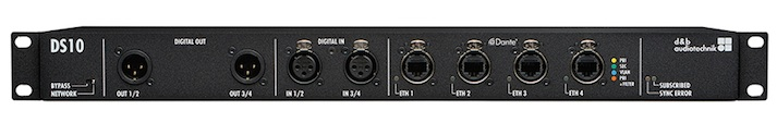 d&b audiotechnik DS10 AUDIO NETWORK BRIDGE