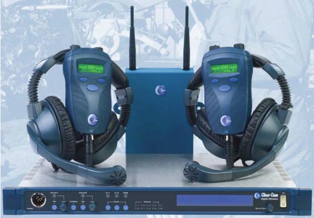 Clearcom Freespeak Communications Professional Audio