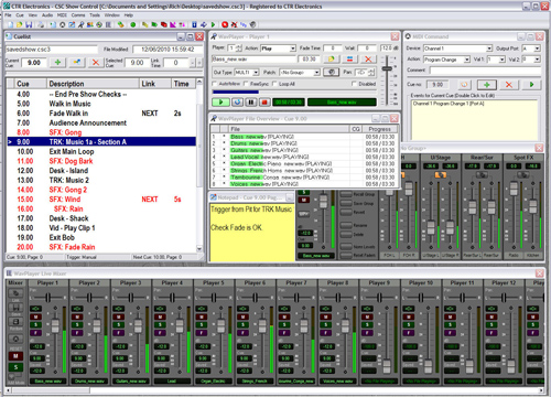 CSC - Recording, Playback & Show Control - Professional