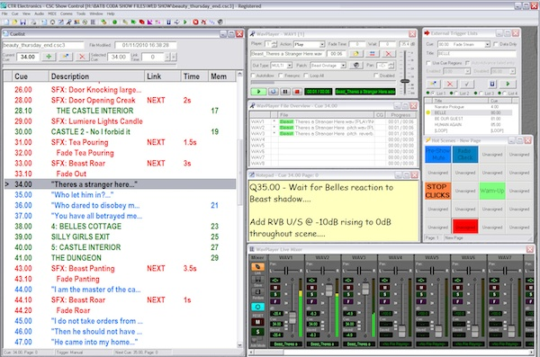 Stop Press: Latest News re CSC Audio Playback & Show Control